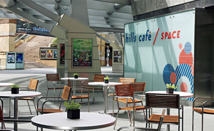 hills cafe space